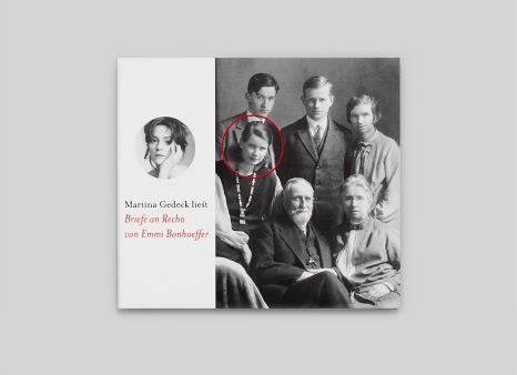 Martina Gedeck liest »Briefe an Recha« von Emmi Bonhoeffer